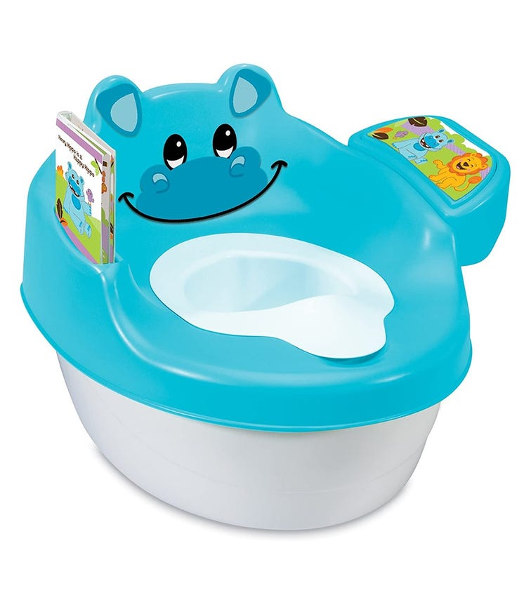 SUMMER INFANT 3 In 1 Hippo Tales Potty