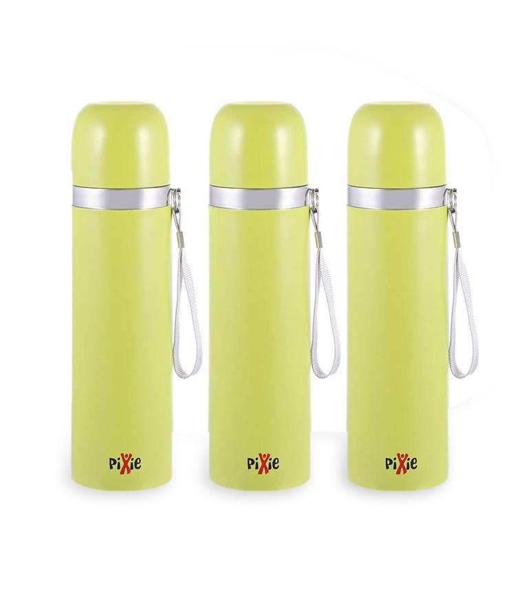 PIXIE Thermo 500 ML Green - Pack Of 3