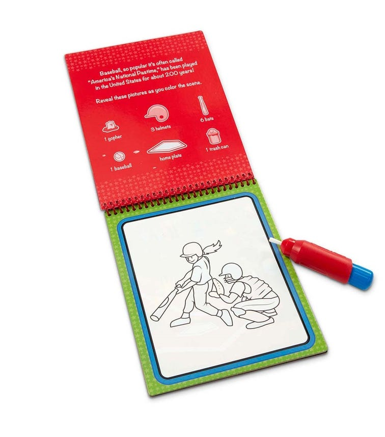 MELISSA&DOUG Water Wow Sports Water Reveal Pad