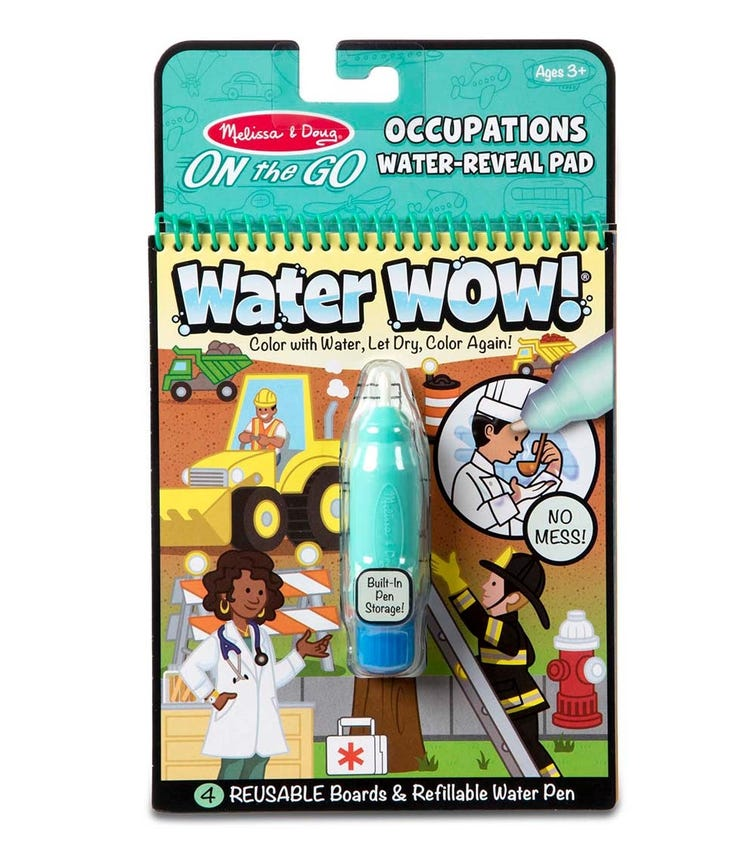MELISSA&DOUG On The Go Water Wow! Occupations