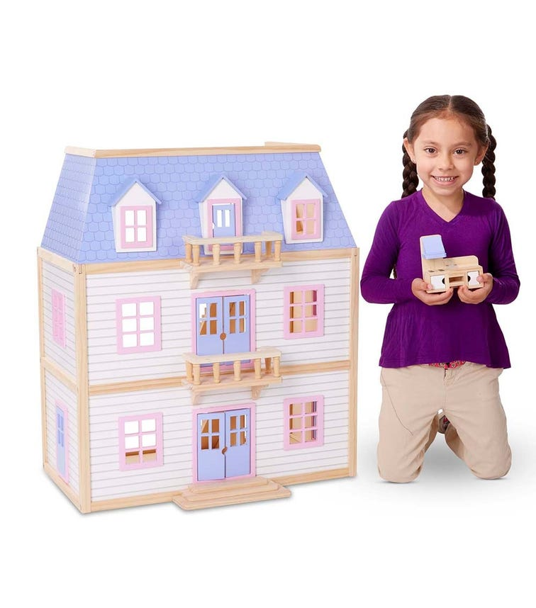 MELISSA&DOUG Multilevel Dollhouse