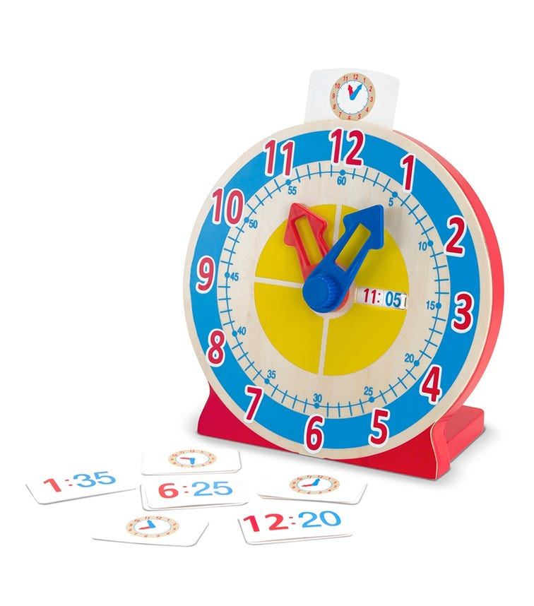 MELISSA&DOUG Turn & Tell Clock