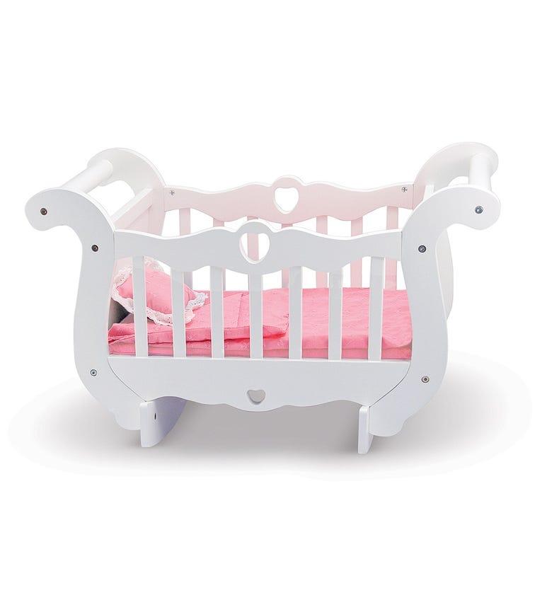 MELISSA&DOUG Wooden Doll Crib