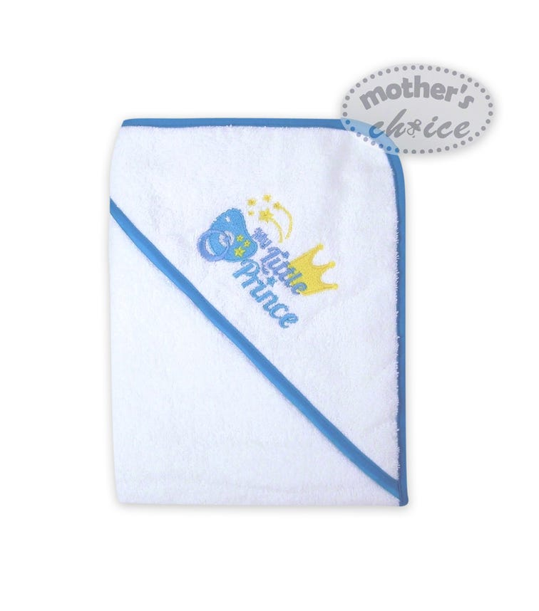 MOTHER'S CHOICE Hooded Towel Little Prince & Little Princess