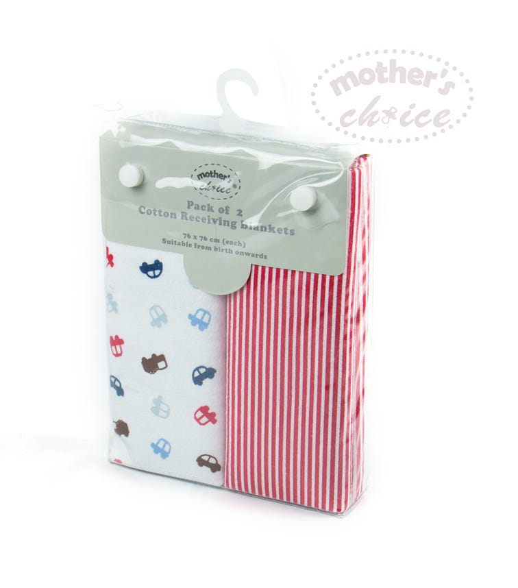 MOTHER'S CHOICE 2 Pack Flannel Receiver