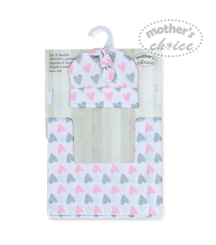 MOTHER'S CHOICE Hat Swaddle Set