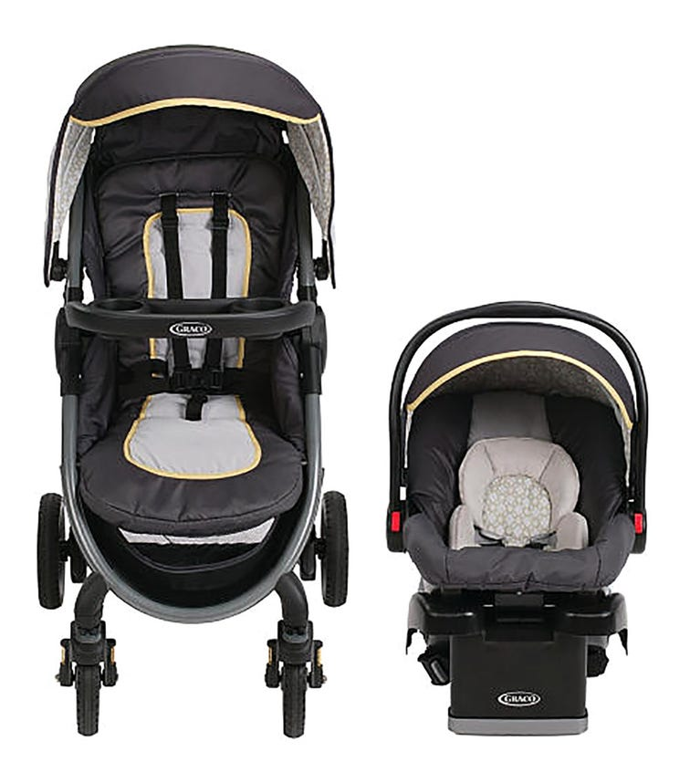 GRACO Fastaction Fold 2.0 Travel System Henson