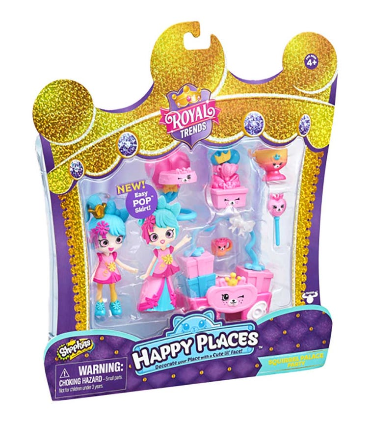 HAPPY PLACES SPK S7 Welcome Pack Squirrel Palace Party