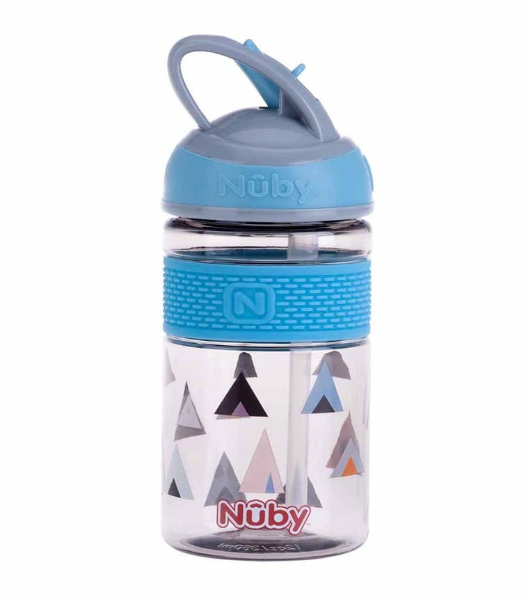 NUBY 2 N 1 Hard Spout Push Cup Made With Tritan 3