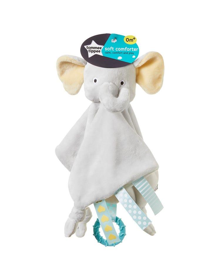 TOMMEE TIPPEE Soft Comforter Ernie Elephant - Grey