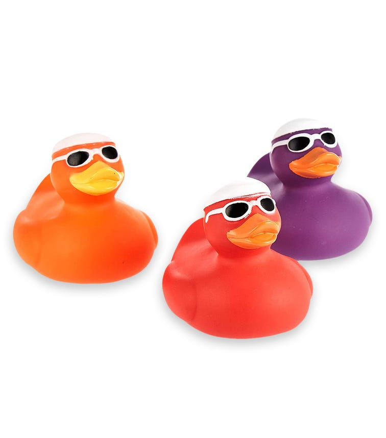 PIXIE Floating Ducks Colored - Pack Of 2
