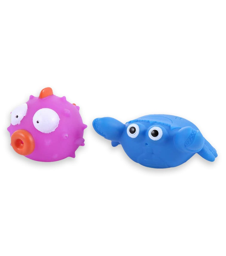 PIXIE Floating Squirty Bufferfish Crab 2 Pack