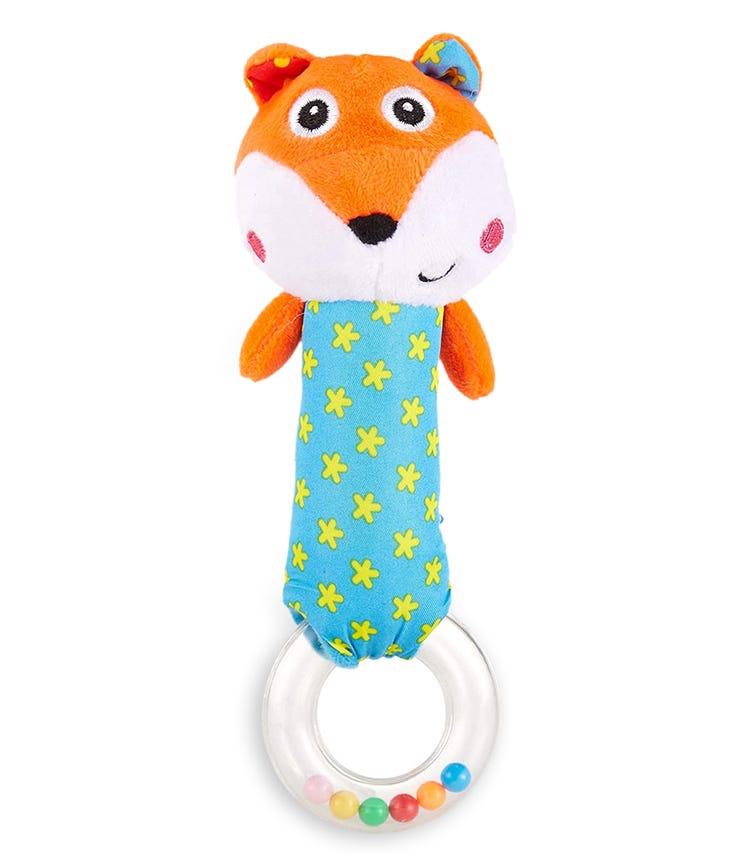 PIXIE Rattle Baby Toy Fox