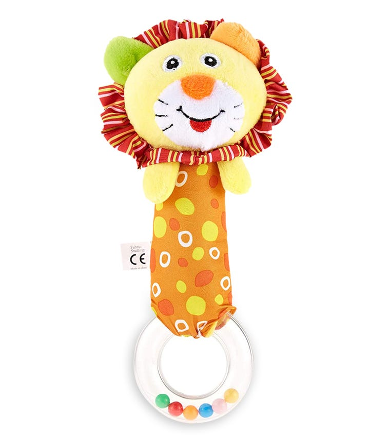 PIXIE Rattle Baby Toy Lion