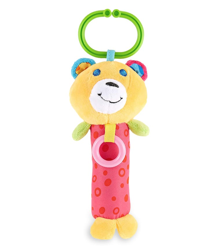 PIXIE Rattle Baby Toy Bear