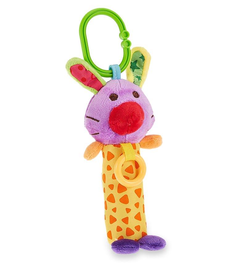 PIXIE Rattle Baby Toy Rabbit