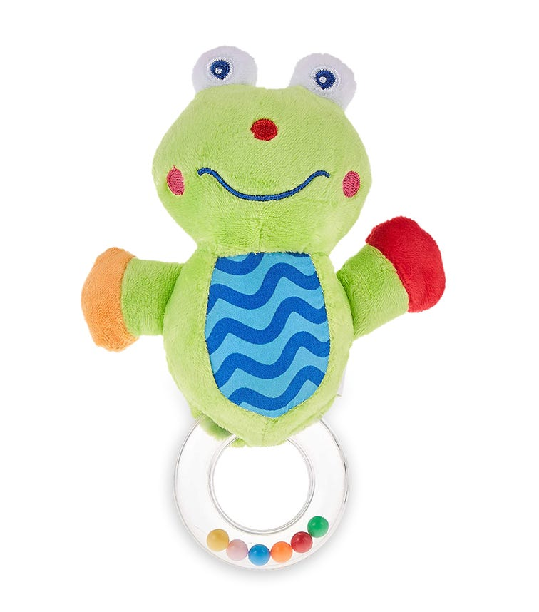 PIXIE Rattle Baby Toy Frog