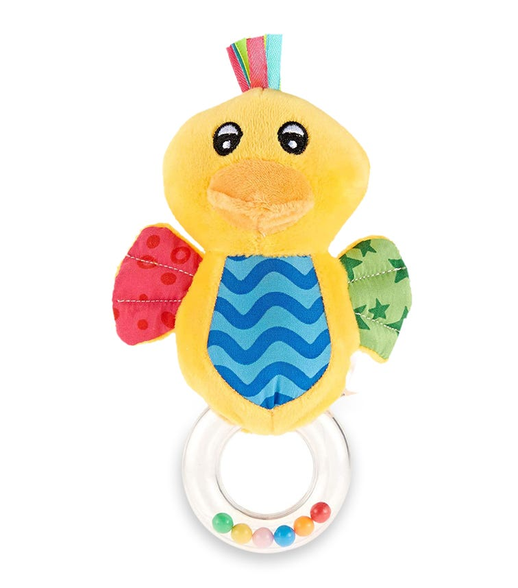 PIXIE Rattle Baby Toy Duck