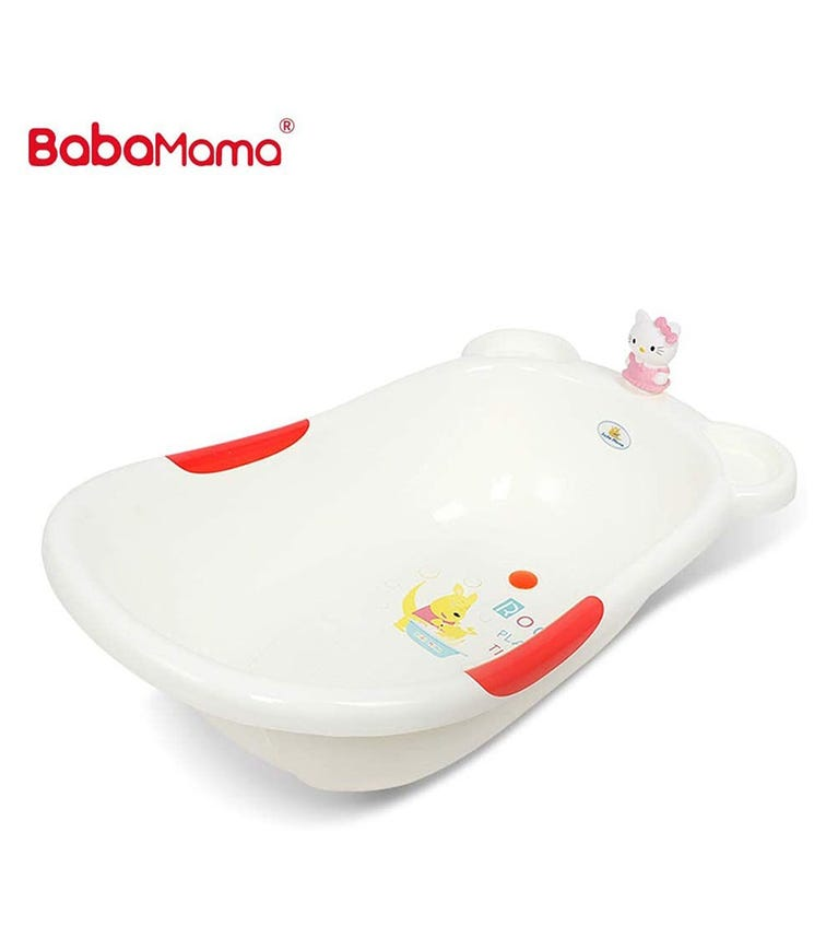 BABAMAMA Baby Bathing Tub Portable 008 - Red