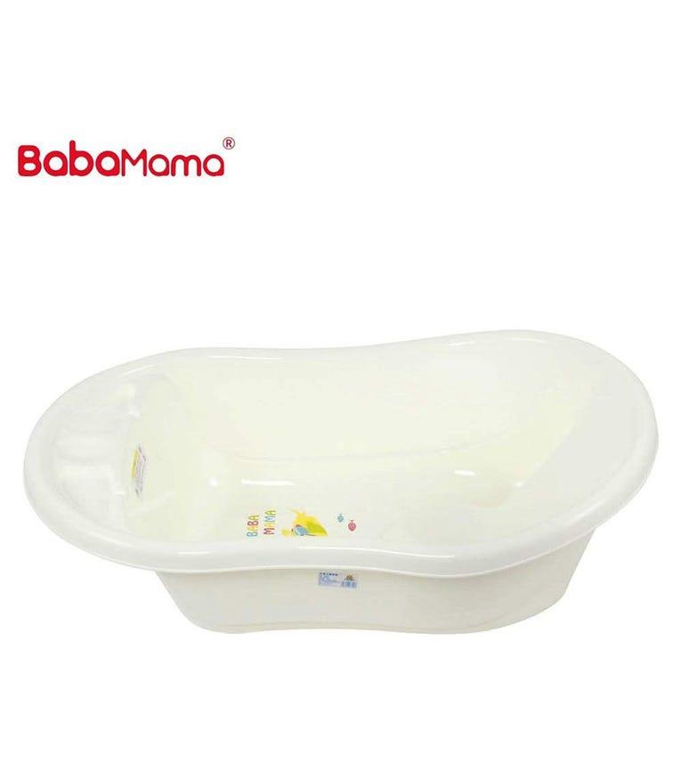 BABAMAMA Baby Bathing Tub Portable 3800 - White