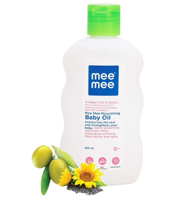 MEE MEE Baby Oil-Fruit Extracts With Baby Lotion