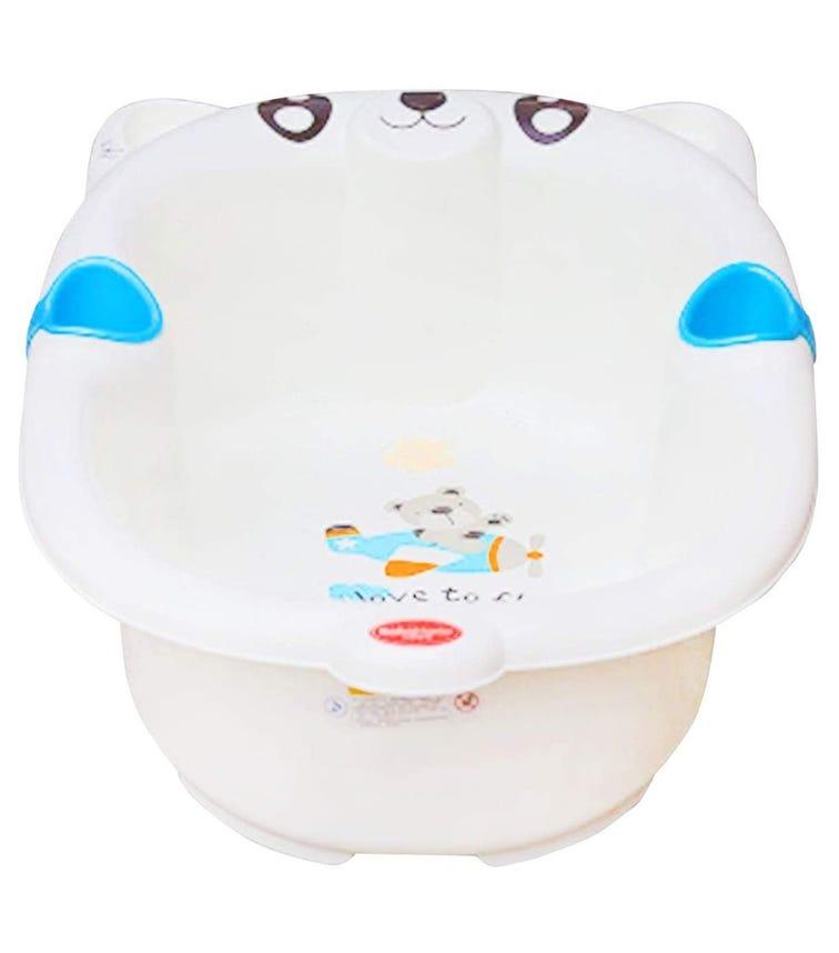 PIXIE Bear Baby Bathing Tub Potable 16 - Blue