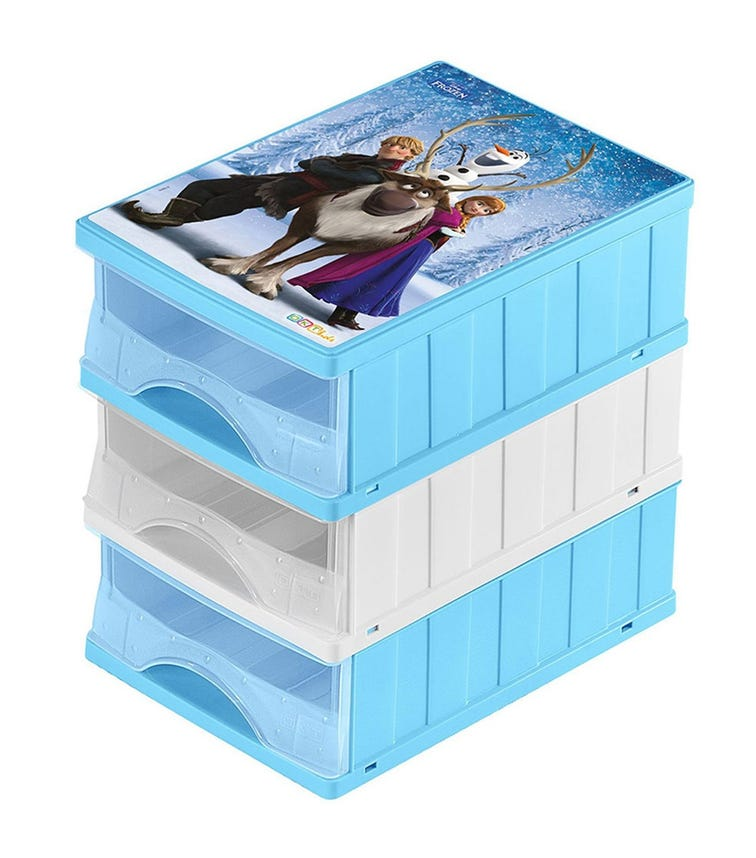 KEEPER Drawers' Box A5 Frozen 3 Drawers