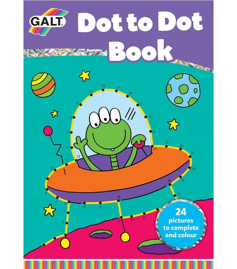 GALT Dot To Dot Book Kids Learning Activity Book