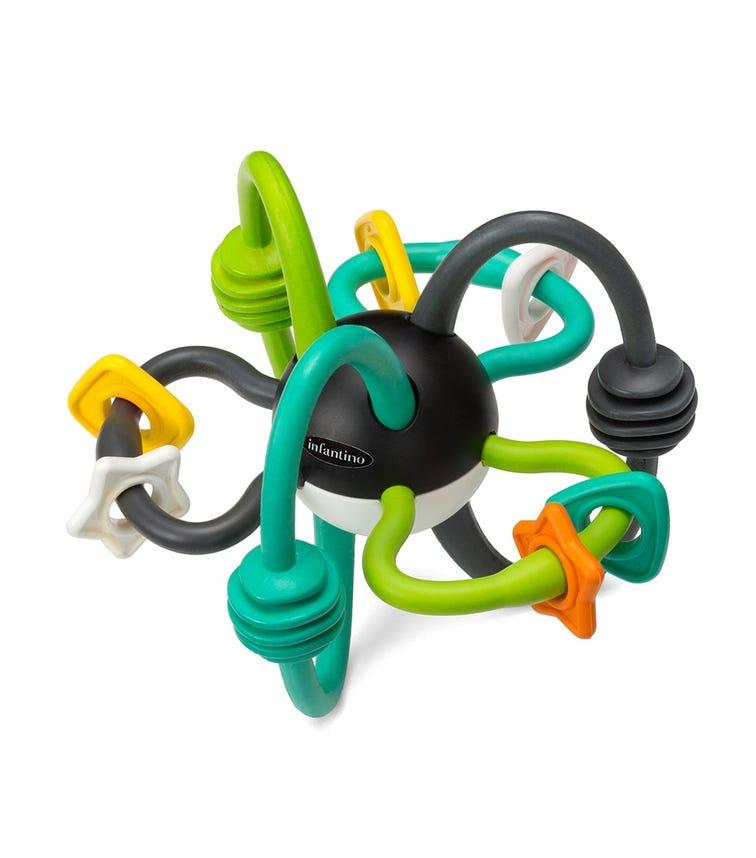 INFANTINO Shake Teethe Flexible Rattle Ball