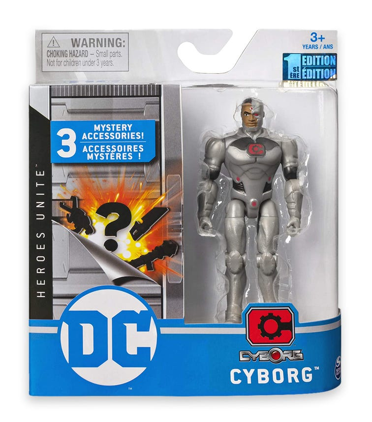 DC UNIVERSE Figure 4 Inch Basic Full Assorted