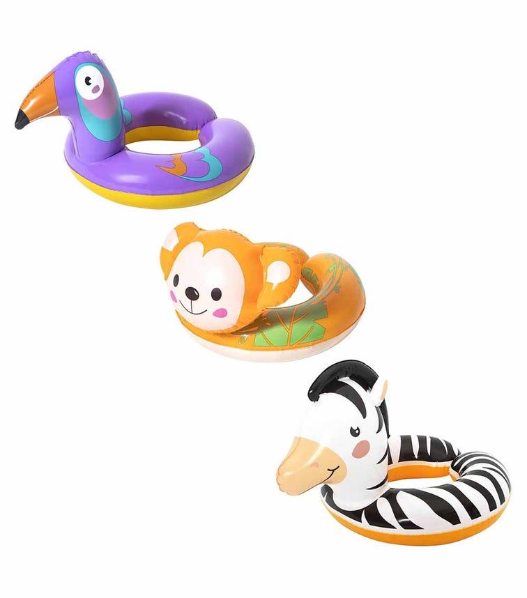 BESTWAY Swim Ring Safari Animal