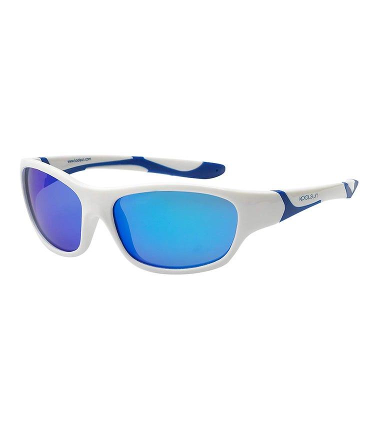 Koolsun Sportkids Sunglasses Aqua White 6-12 Years