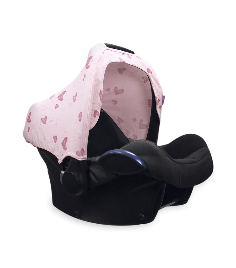 DOOKY Hoody Cover - Pink Heart