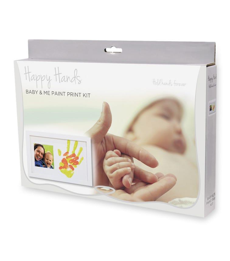 HAPPY HANDS Baby & Me Paint Print Kit (32x20cm)