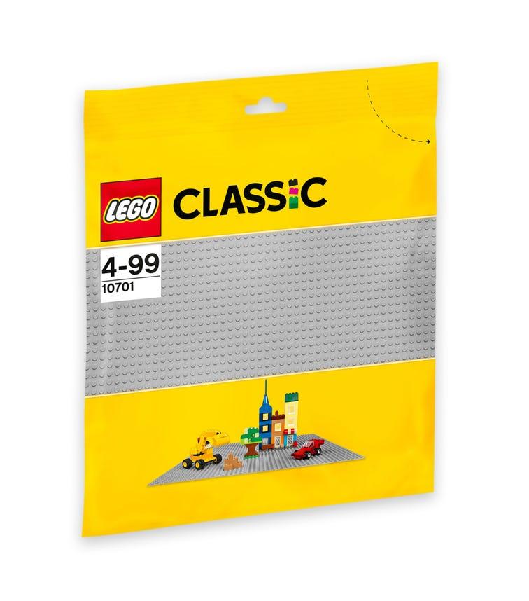 LEGO 10701 Grey Baseplate