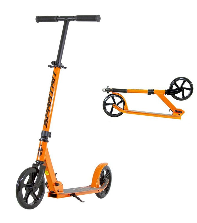 SPARTAN Edge Folding Scooter Orange