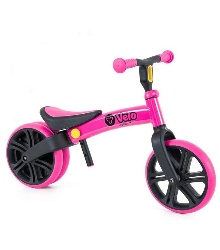 YVOLUTION Yvelo Junior Balance Bike Pink