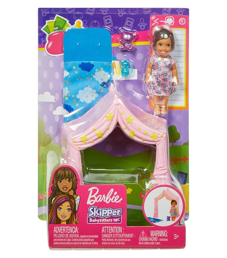 BARBIE Skipper Doll Sitters C Accessories Asst