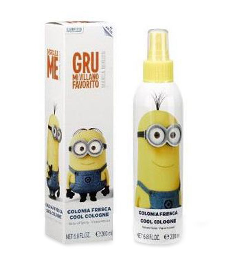AIRVAL Despicable Me Minion Made Cool Cologne 200 ML