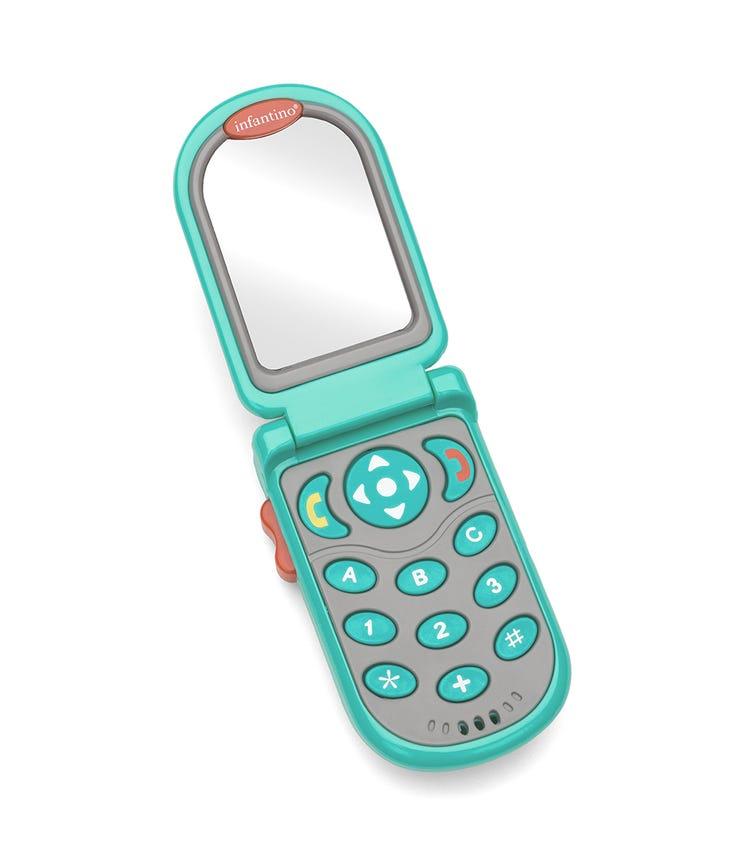 INFANTINO Flip Peek Fun Phone - Teal