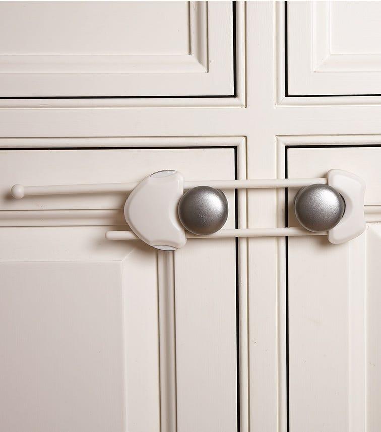 CLIPPASAFE Cabinet Slide Lock