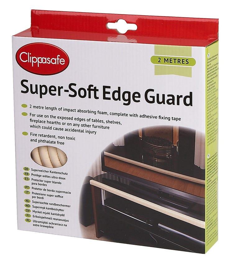 CLIPPASAFE Super-Soft Edge Guard - 2 Metres (Cream)