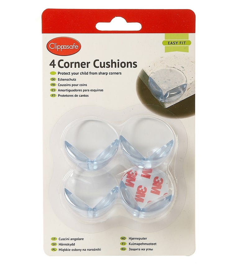 CLIPPASAFE Corner Cushions (4 Pack)
