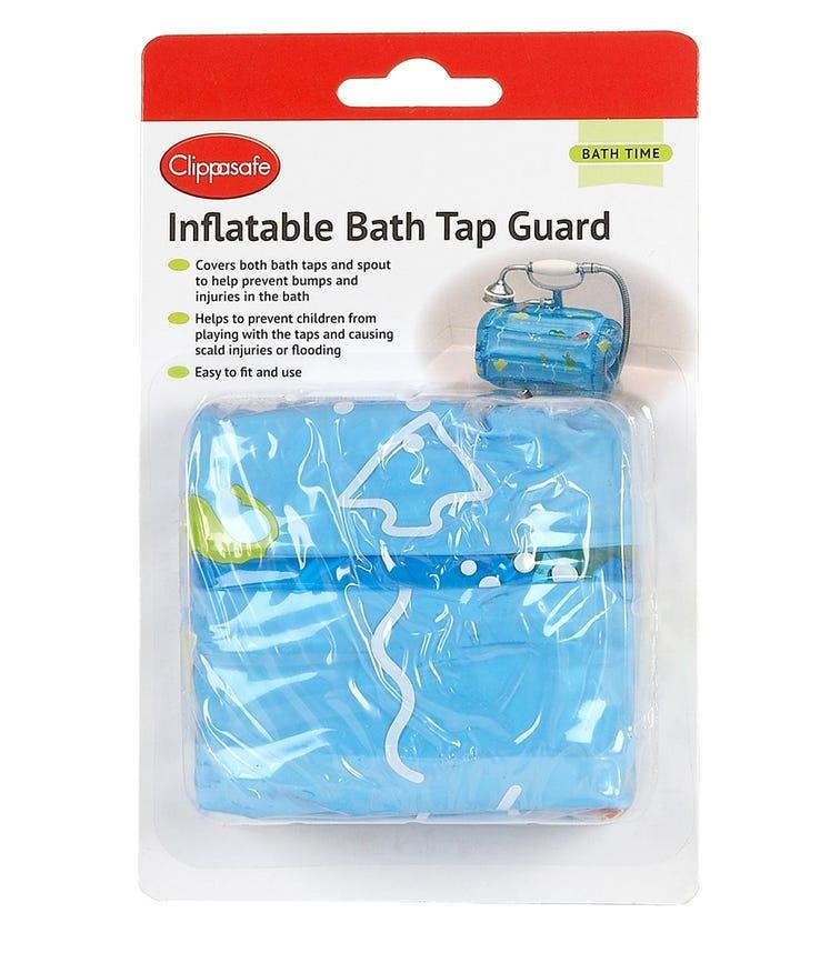CLIPPASAFE Inflatable Bath Tap Guard - Blue