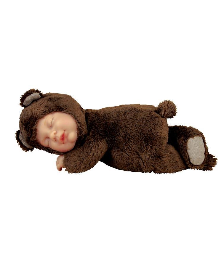 ANNE GEDDES Dolls (9 Inch) Baby Bear Chocolate