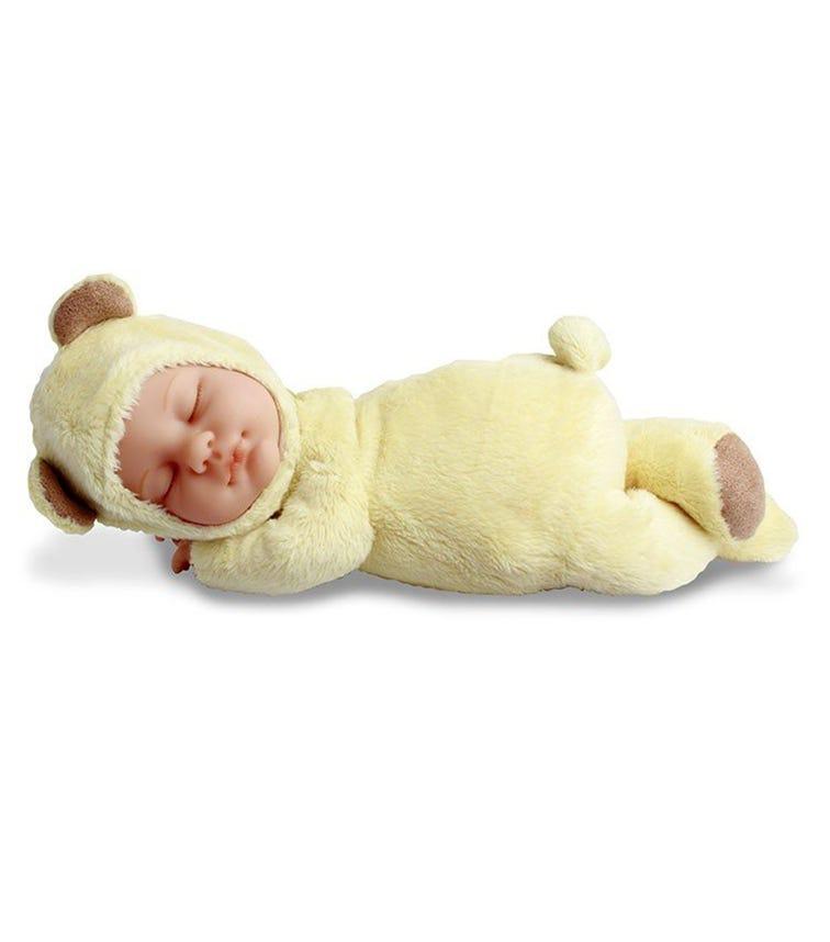 ANNE GEDDES Dolls (9 Inch) Baby Bear Light Yellow