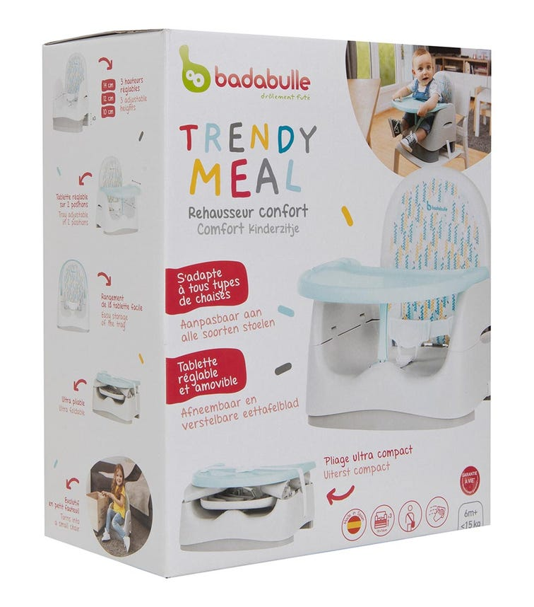 BADABULLE Trendy Meal Booster Seat