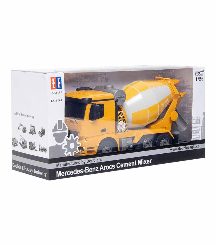 DOUBLE EAGLE 1:26 CARRERA Mercedes-Benz CARRERA RC Concrete Mixer