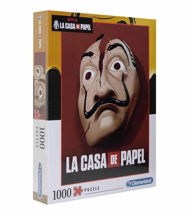 CLEMENTONI Netflix La Casa De Papel Mask 1000 Pieces