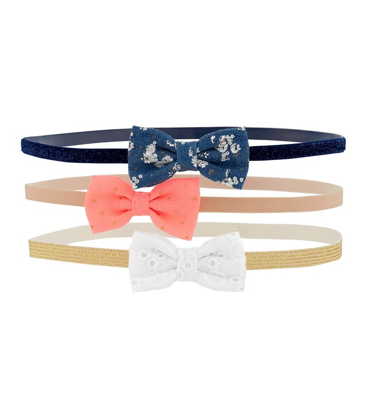 OSHKOSH 3-Pack Bow Headwraps
